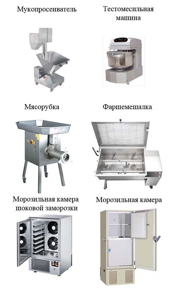 оборудование для пельменной