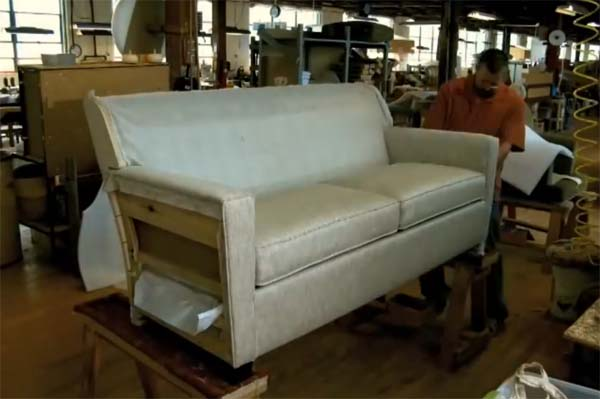 Технология производства мягкой мебели