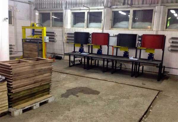 оборудование производства резиновой плитки
