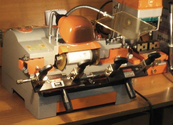 изготовление ключей оборудование