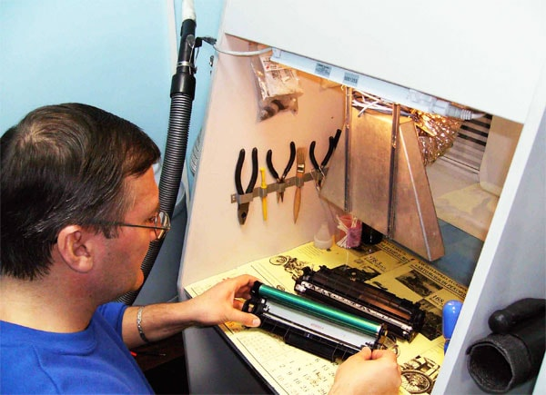заправка картриджей принтеров бизнес