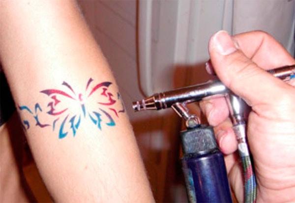 открываем бизнес на временных татуировках