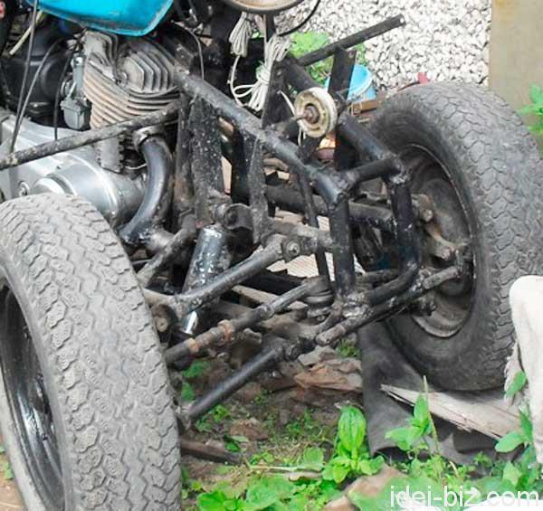 Квадроцикл самодельный